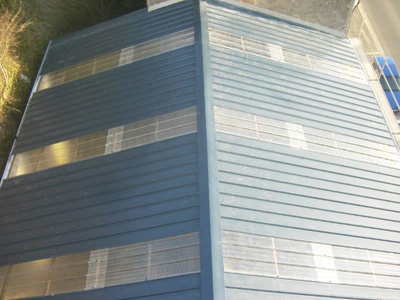 quelques chantiers en bacs acier dans l 39 indre sarl plantureux. Black Bedroom Furniture Sets. Home Design Ideas