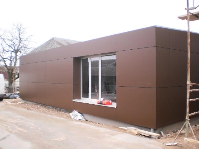 panneau bardage composite bardage bois u composite with. Black Bedroom Furniture Sets. Home Design Ideas