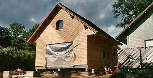 Ossature bois charpente bois