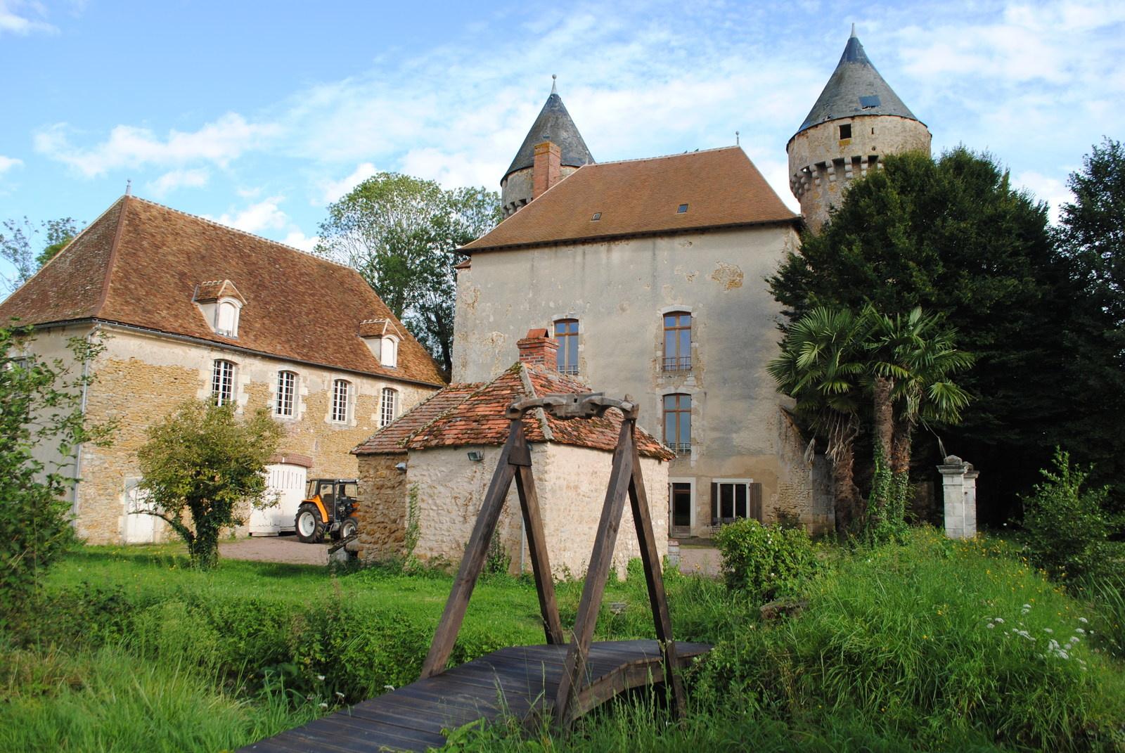 Château de Celon - état avant travaux